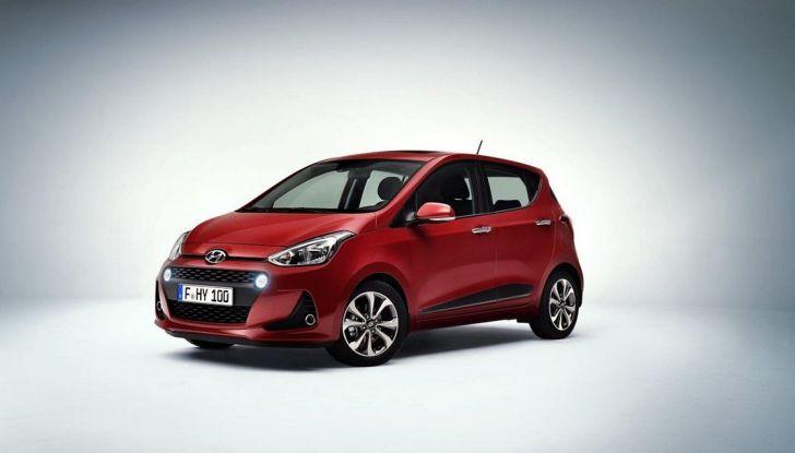 Nuova Hyundai i10: debutto ufficiale al Salone di Parigi - Foto 1 di 8