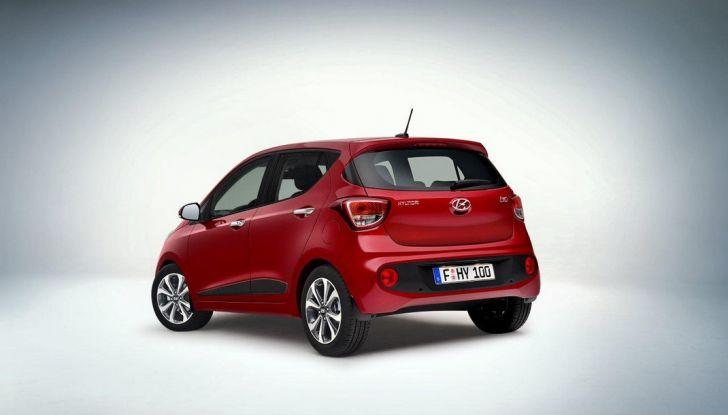 Nuova Hyundai i10: debutto ufficiale al Salone di Parigi - Foto 2 di 8