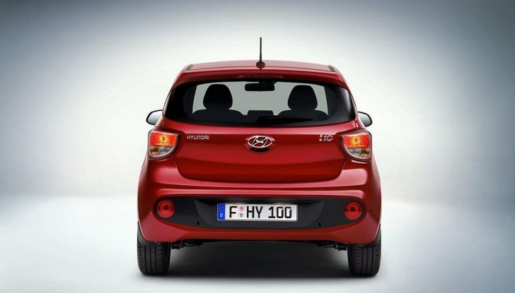 Nuova Hyundai i10: debutto ufficiale al Salone di Parigi - Foto 8 di 8