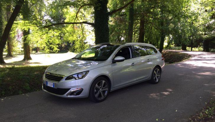 Peugeot 308 station wagon BlueHDi 150 CV: test drive, prezzi e caratteristiche - Foto 24 di 24