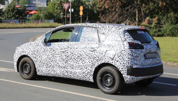 Opel Meriva 2017: le foto spia del prototipo, ora con maggiori dettagli - Foto 7 di 16
