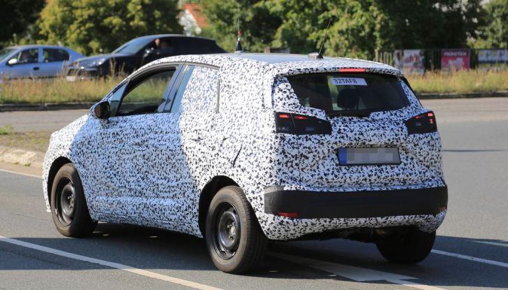 Opel Meriva 2017: le foto spia del prototipo, ora con maggiori dettagli - Foto 8 di 16