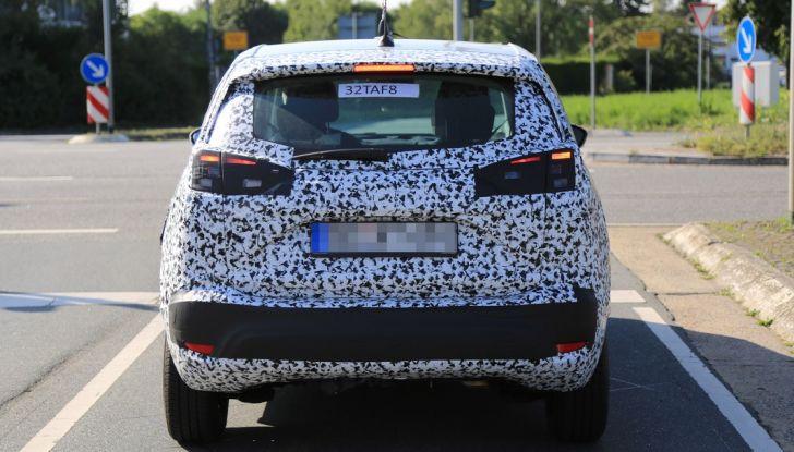Opel Meriva 2017: le foto spia del prototipo, ora con maggiori dettagli - Foto 10 di 16