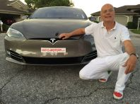 Test Drive Tesla Model S AWD Autopilota in Florida USA