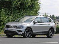 Volkswagen Tiguan XL 2017: le foto spia senza camuffamento
