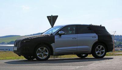 Volkswagen Touareg 2018: le prime foto spia del prototipo