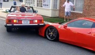 Incidenti Ferrari, tutti i crash più curiosi