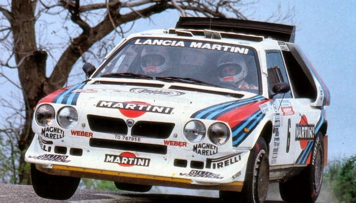 Le 10 auto da rally italiane più belle di sempre - Foto 10 di 11