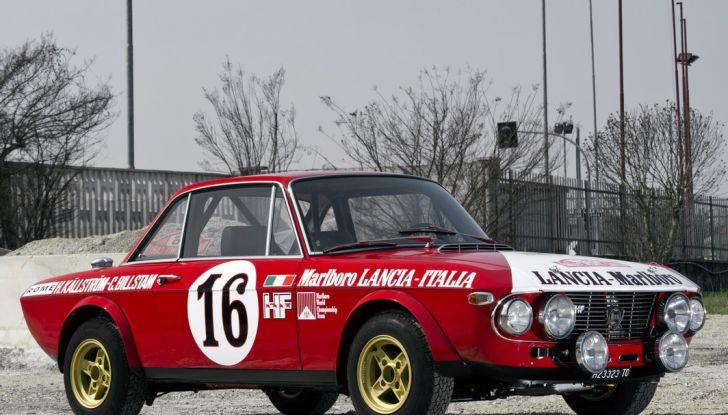 Le 10 auto da rally italiane più belle di sempre - Foto 2 di 11