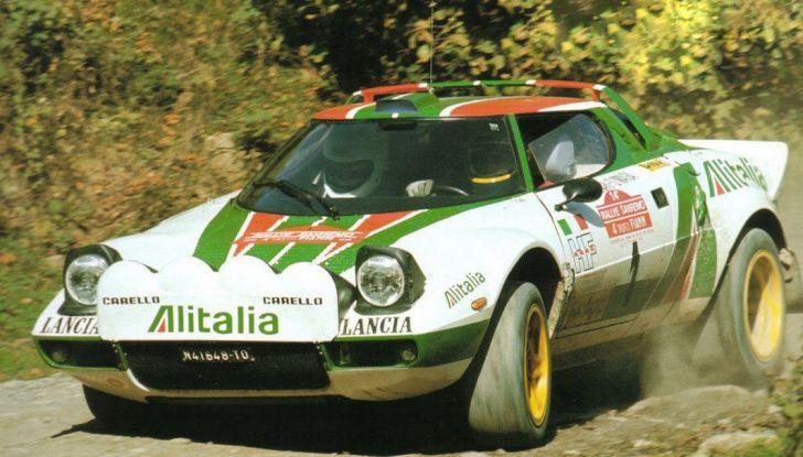 Le 10 auto da rally italiane più belle di sempre - Foto 5 di 11