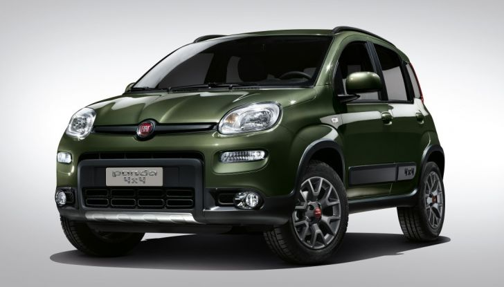 Nuova Fiat panda 4x4.