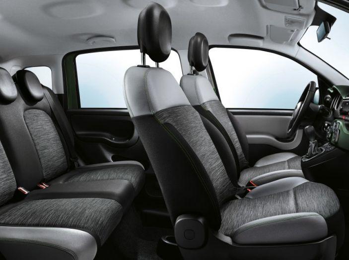 Fiat Panda 4x4 interno sedili.