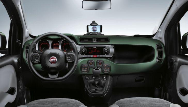 Fiat Panda 4x4 interno.