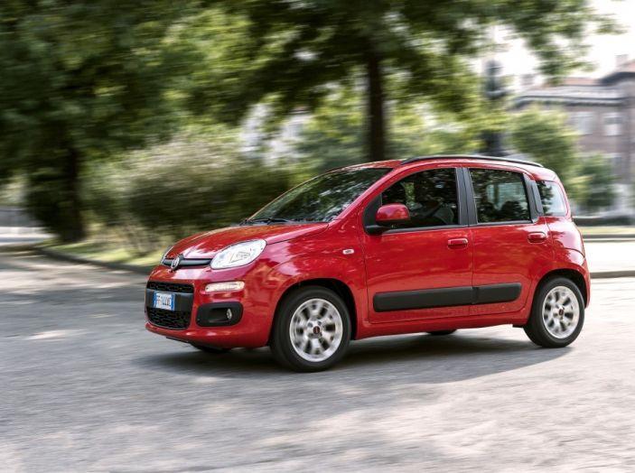 Fiat Panda 2017 in movimento.