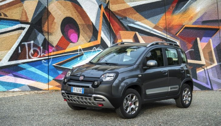 Fiat Panda 2017 3/4 frontale laterale.