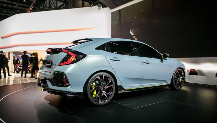 2017 Honda Civic Coupé, design.