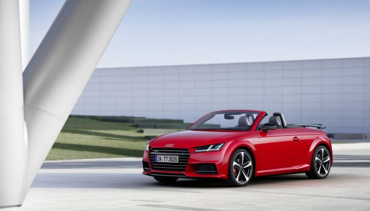 Audi TT Roadster S line competition