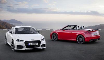 Audi TT S line competition, una versione più sportiva per la coupé di Inglostadt