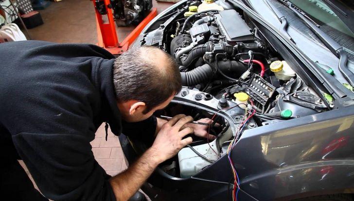 come funziona l'antifurto dell'auto montaggio