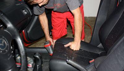 Come rimuovere la muffa dai sedili in pelle