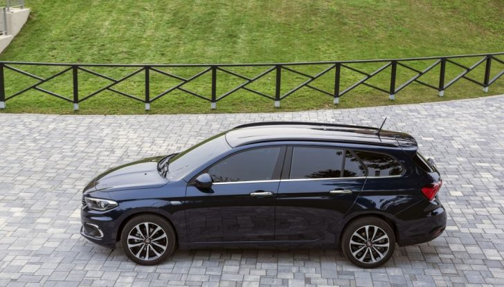 Fiat Tipo Sw laterale.
