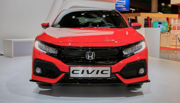 Nuova Honda Civic 2107, frontale.