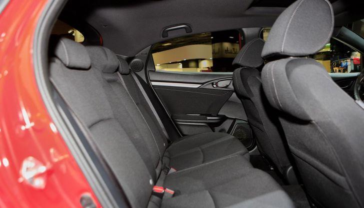Nuova Honda Civic, interno.