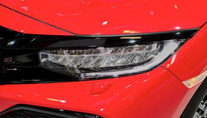 Nuova Honda Civic, fanale.
