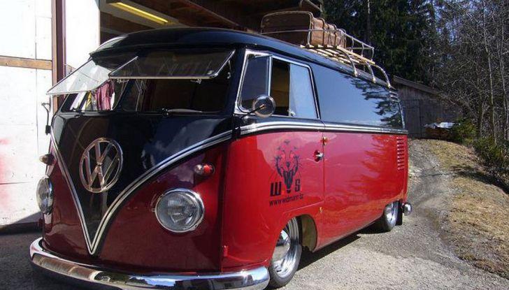 Volkswagen Bulli, il pullmino hippie ha ora un erede - Foto 8 di 10