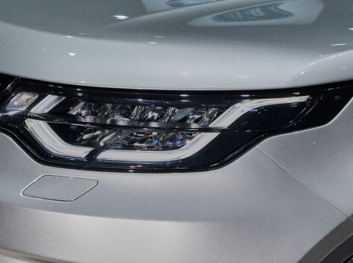 Nuova Land Rover Discovery al salone Auto e Moto d'Epoca - Foto 12 di 19