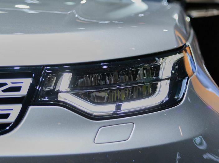 Nuova Land Rover Discovery al salone Auto e Moto d'Epoca - Foto 14 di 19