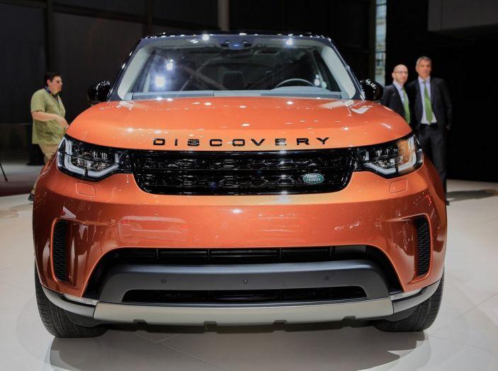 Nuova Land Rover Discovery al salone Auto e Moto d'Epoca - Foto 2 di 19