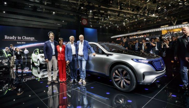 Mercedes Generation EQ al Salone di Parigi 2016 - Foto 17 di 24