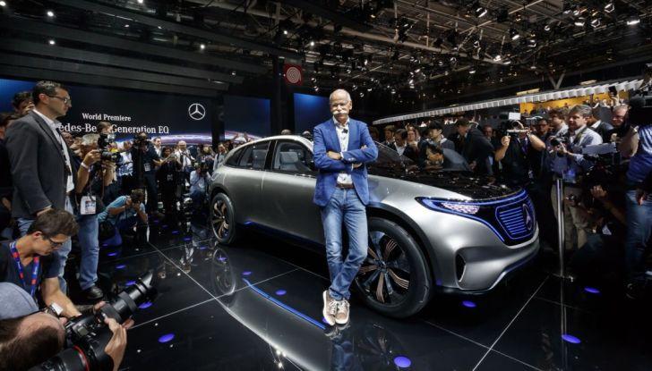 Mercedes Generation EQ al Salone di Parigi 2016 - Foto 24 di 24