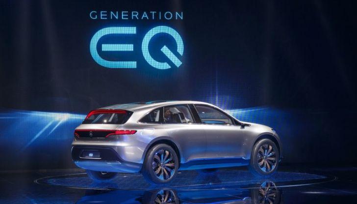 Mercedes Generation EQ al Salone di Parigi 2016 - Foto 18 di 24