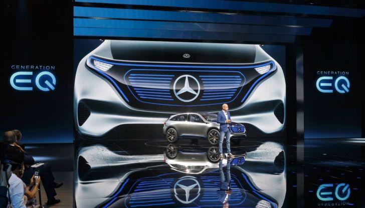 Mercedes Generation EQ al Salone di Parigi 2016 - Foto 20 di 24