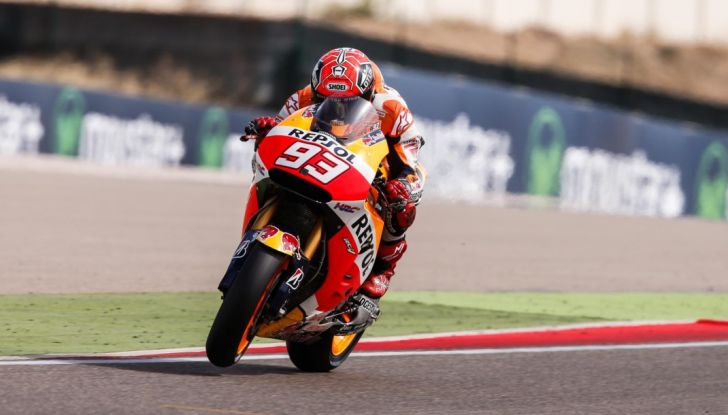 Risultati MotoGP 2016, Aragon: trionfa Marquez, Rossi terzo - Foto 19 di 22