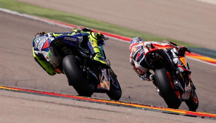 Risultati MotoGP 2016, Aragon: trionfa Marquez, Rossi terzo - Foto 5 di 22