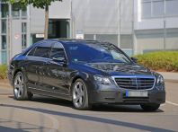 Mercedes Classe S Facelift 2017 nuove foto sia