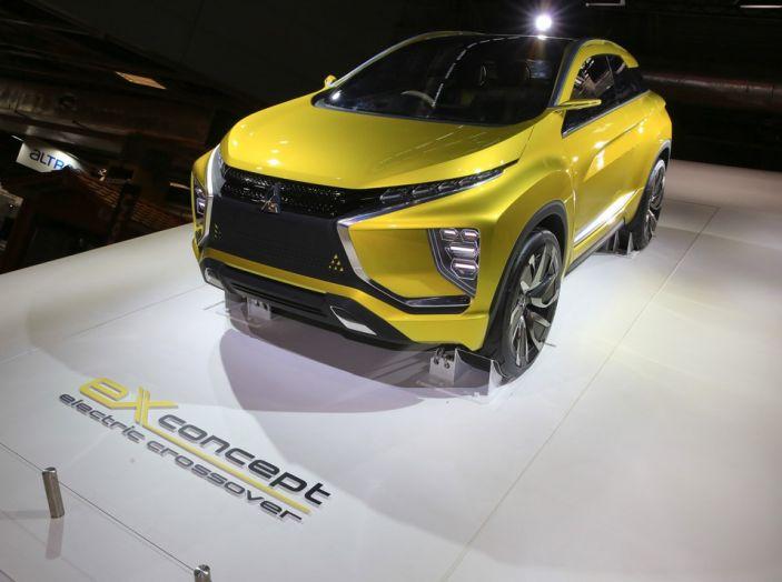 Mitsubishi e-Volution Concept, il SUV coupé sportivo elettrico - Foto 3 di 6