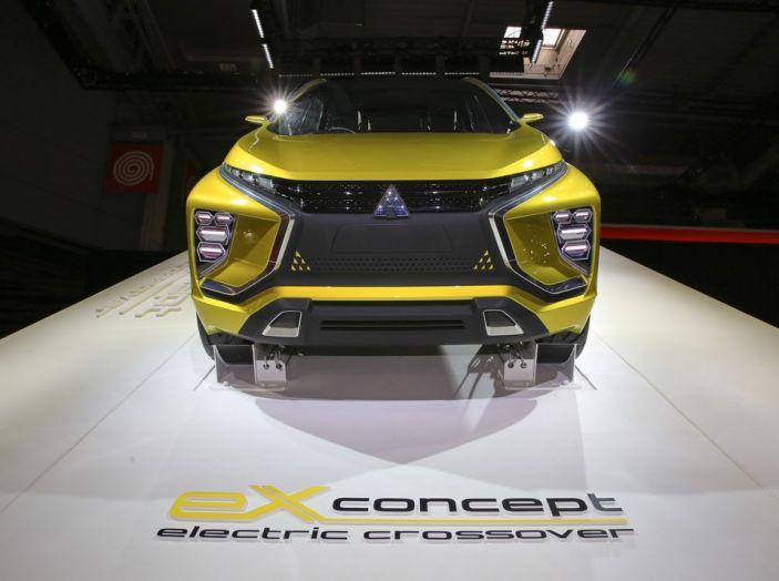 Mitsubishi e-Volution Concept, il SUV coupé sportivo elettrico - Foto 4 di 6