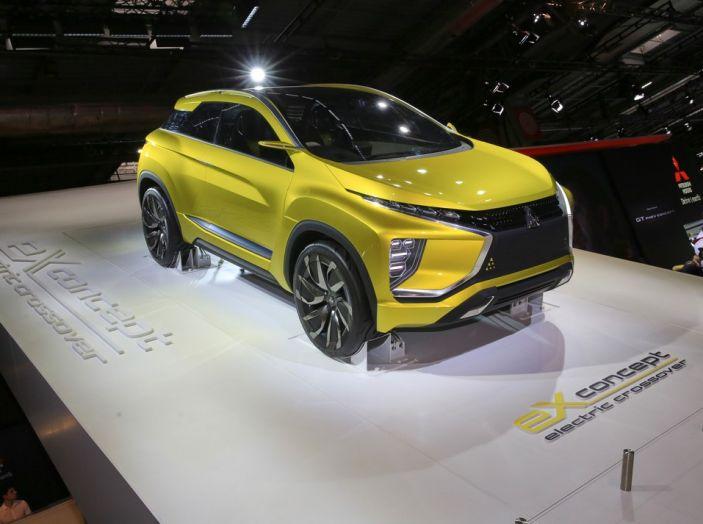 Mitsubishi e-Volution Concept, il SUV coupé sportivo elettrico - Foto 1 di 6