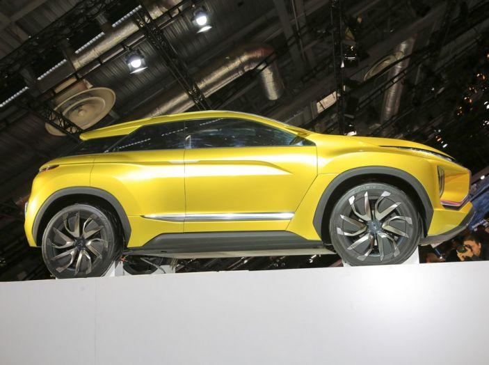 Mitsubishi e-Volution Concept, il SUV coupé sportivo elettrico - Foto 2 di 6
