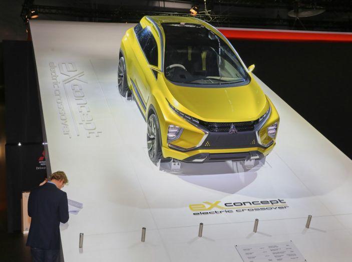 Mitsubishi e-Volution Concept, il SUV coupé sportivo elettrico - Foto 5 di 6