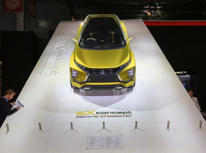 Mitsubishi e-Volution Concept, il SUV coupé sportivo elettrico - Foto 6 di 6
