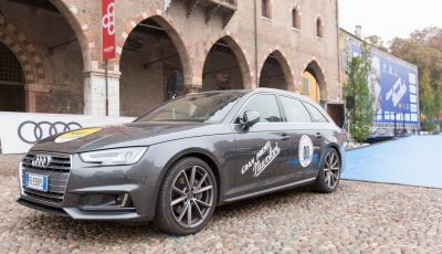 Nuova Audi A3 restyling 2017: un primo contatto al Gran Premio Nuvolari