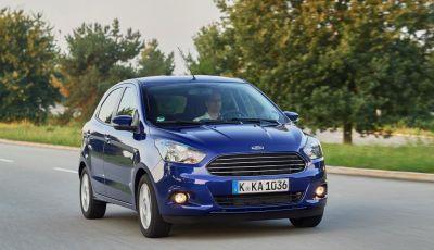 Nuova Ford KA+, listino prezzi prezzi da 9.750 euro