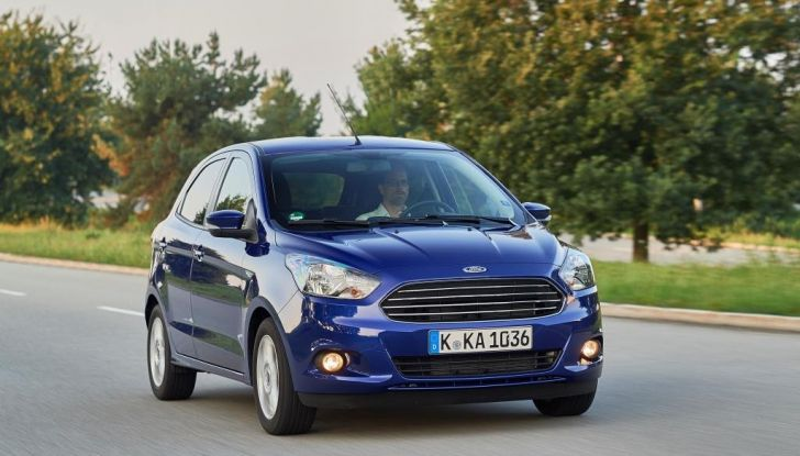 Nuova Ford Ka+ listino prezzi