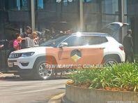 Nuova Jeep Compass, prime foto spia dal Brasile