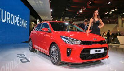 Nuova Kia Rio: anteprima al Mondial de l'Automobile di Parigi